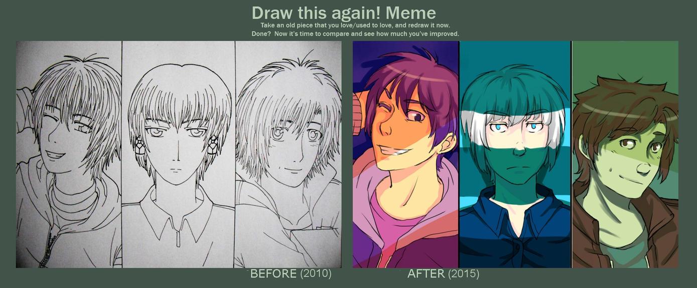 Draw This Again! Meme by Shientah