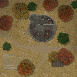 The Ettin's Riddle 'Oldkeep' Battlemap by barto300