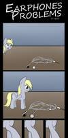 Comic - Earphones Problems