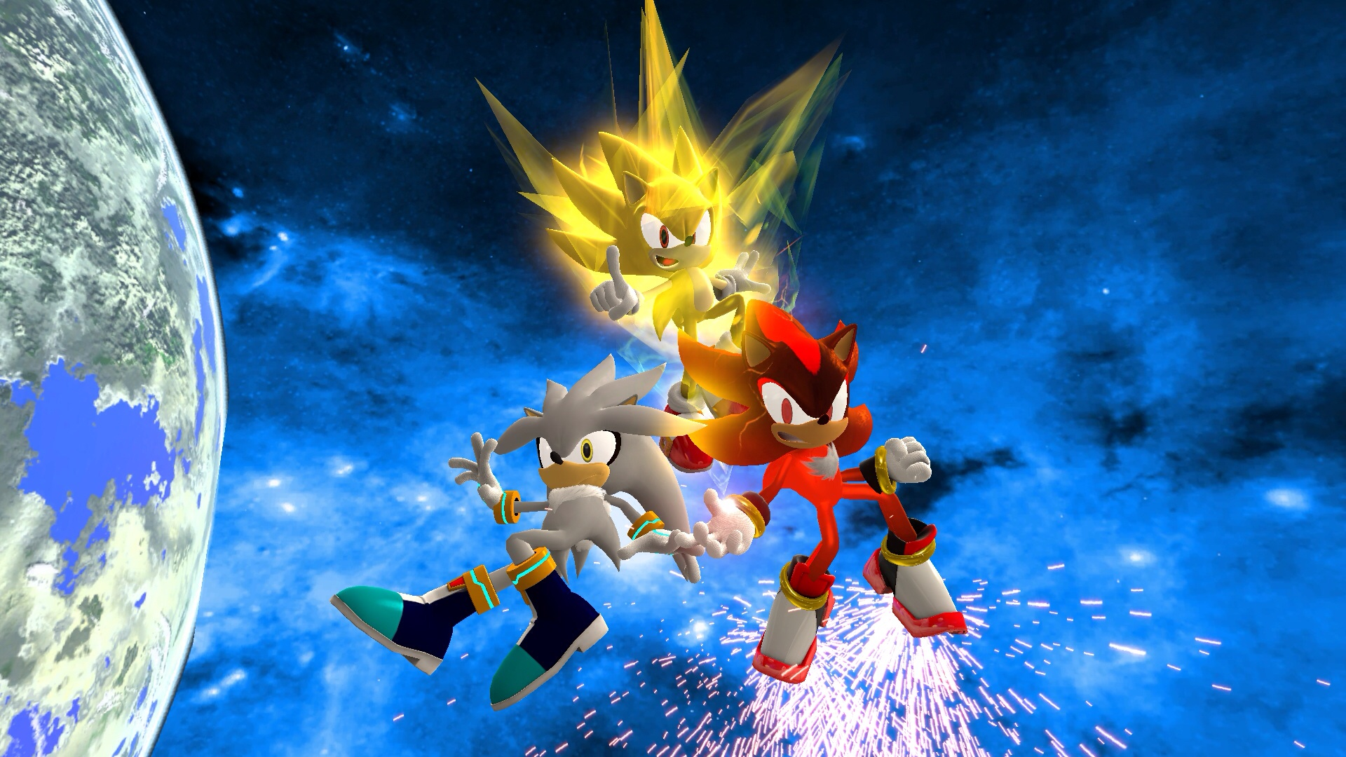 Sonic Heroes 2: Team Super Hedgehogs by UltraSonicChamp on