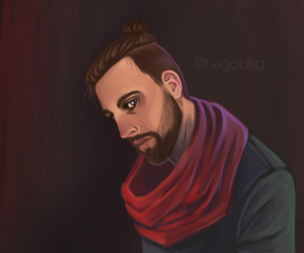 Rob portrait 2 by Albi777