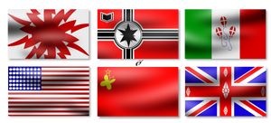 WW2 ponified flags