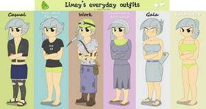 Limey's everyday outfits
