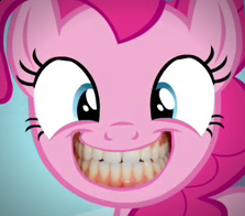 Pinkie Pie Smiling by FluttzKrieg