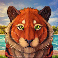The Toffee Tiger by Bandarai
