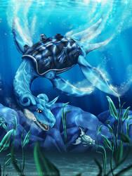 Underwater Pursuit