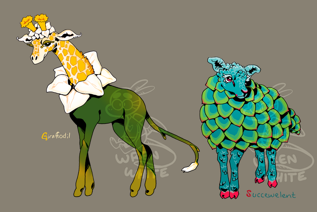 plant critter adopts [1/2 open] [PRICE DROP] by whitekitestrings