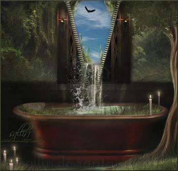 A Bath... by Sallinillas