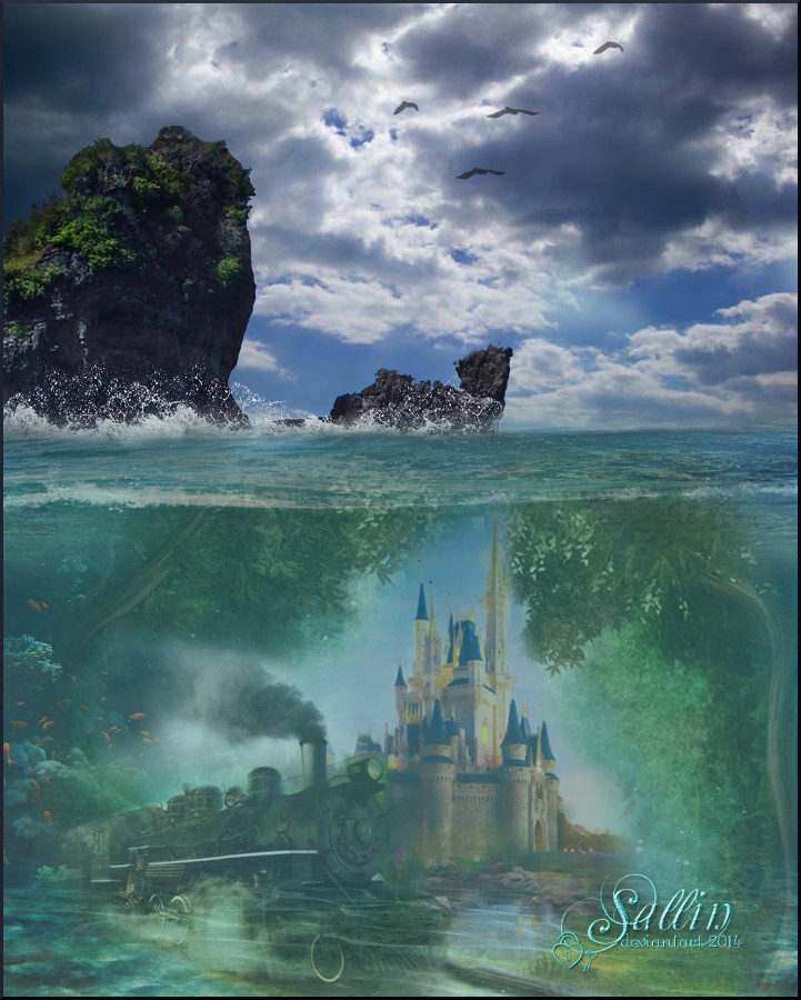 Under the sea........
