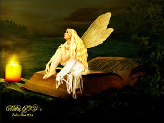 The Golden Fairy by Sallinillas