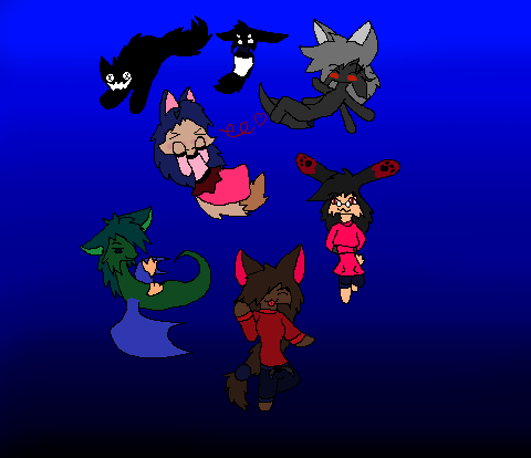 Tiny Dimension jumpers by Isabellatheshino