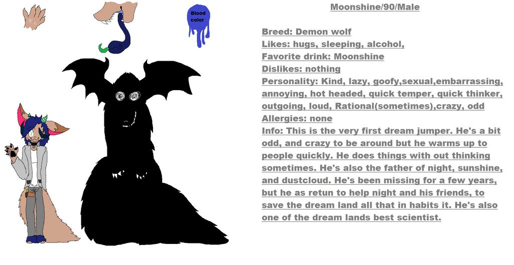 moonshine ref sheet by Isabellatheshino