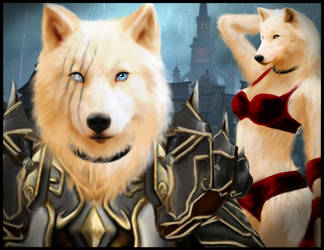Ryleigh Worgen Form by Siame-Sinthera