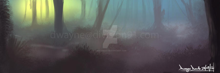 speed painting 2 by dwayned3
