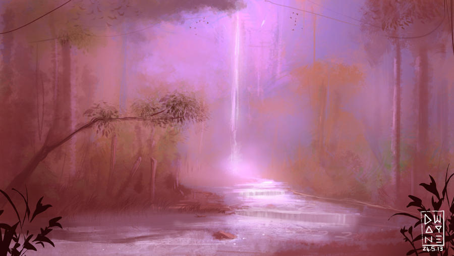 Waterfall by dwayned3