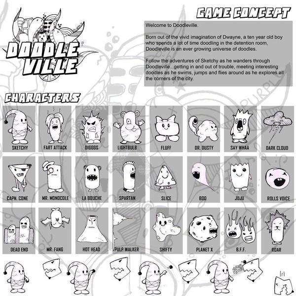 DOODLEVILLE by dwayned3