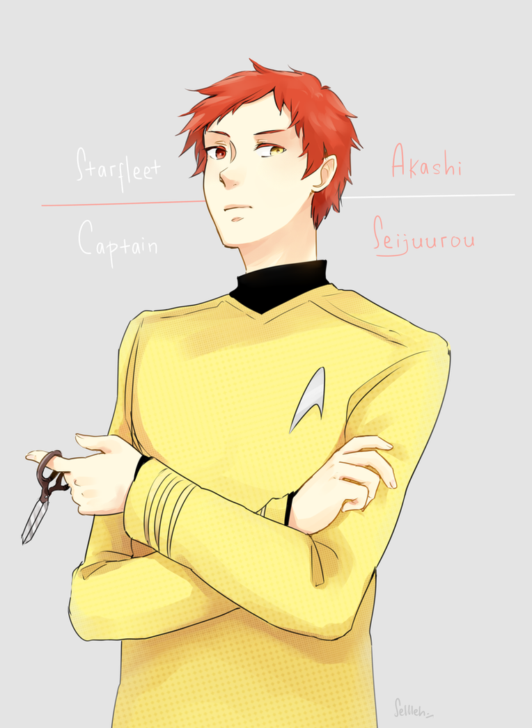 Captain Akashi by Sellleh