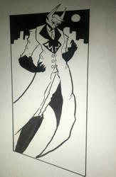 The villain of this story  by Exzeedvelocity