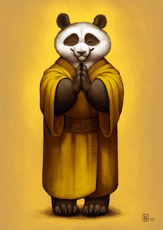 Panda's Blessings by Nimrais