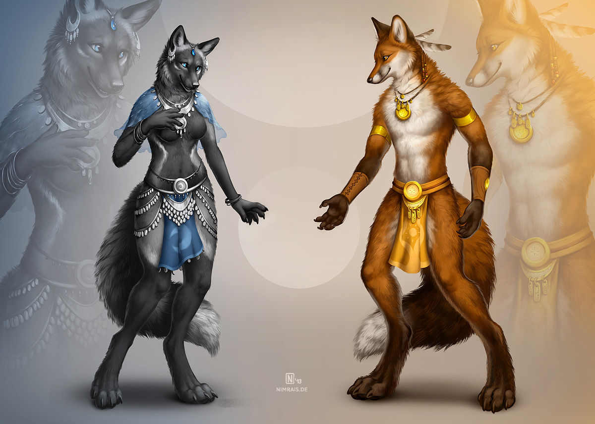 Alaea and Rynn by Nimrais