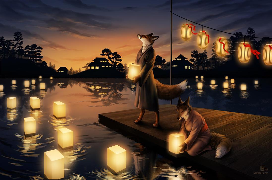 Obon by Nimrais