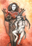 Lucifer and Baphomet
