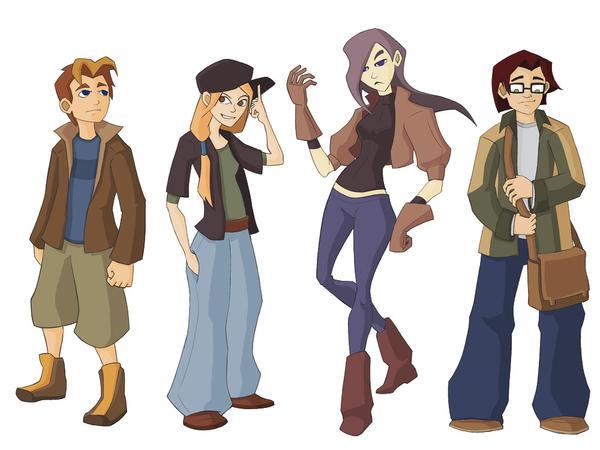 Cartoon Character Design Concept : Cartoon character concepts by tealover on deviantart