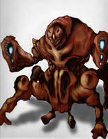 Creature Concept 2 by TheAquaticApe