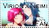 Virion x Neimi Stamp by AGirlFromDistrict3