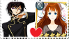 Lelouch X Jade - Stamp by AGirlFromDistrict3