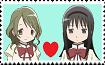 Hitomi X Homura Stamp