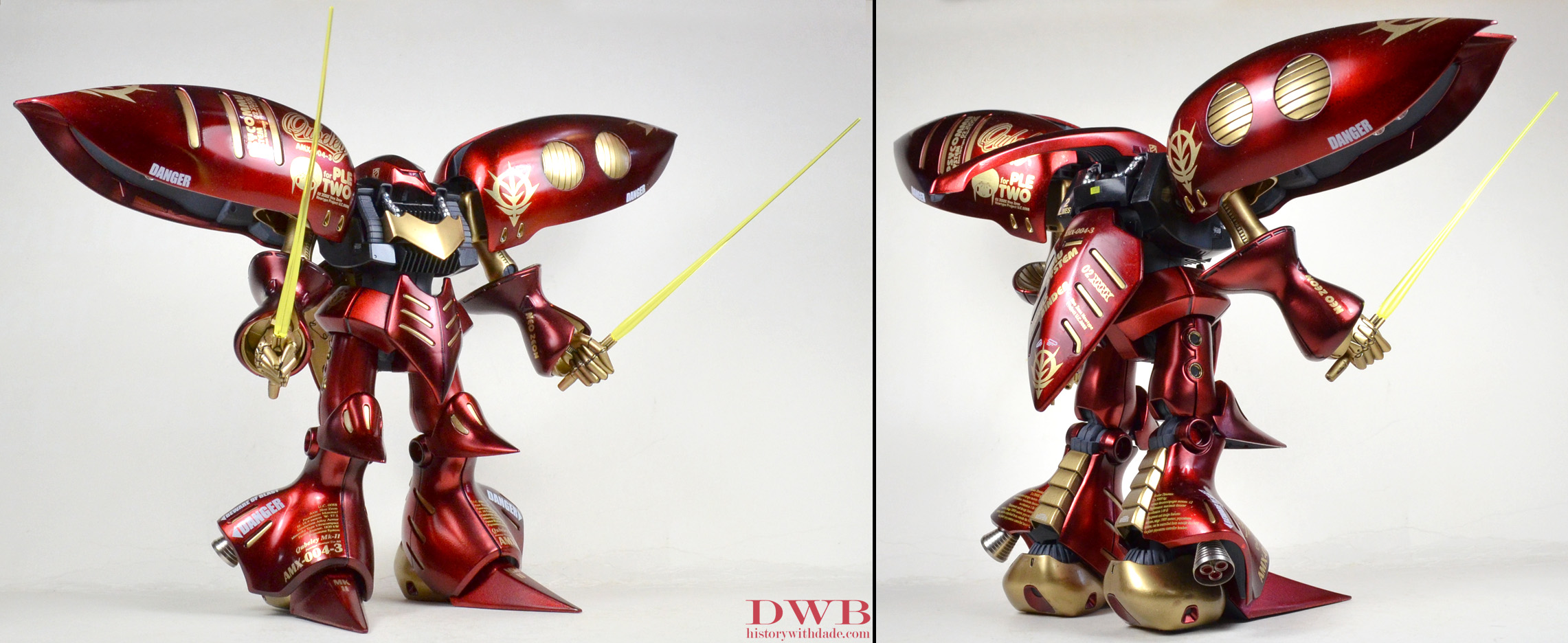 Qubeley Mk II Ple Two Custom 1 by Bang-Doll-SSI