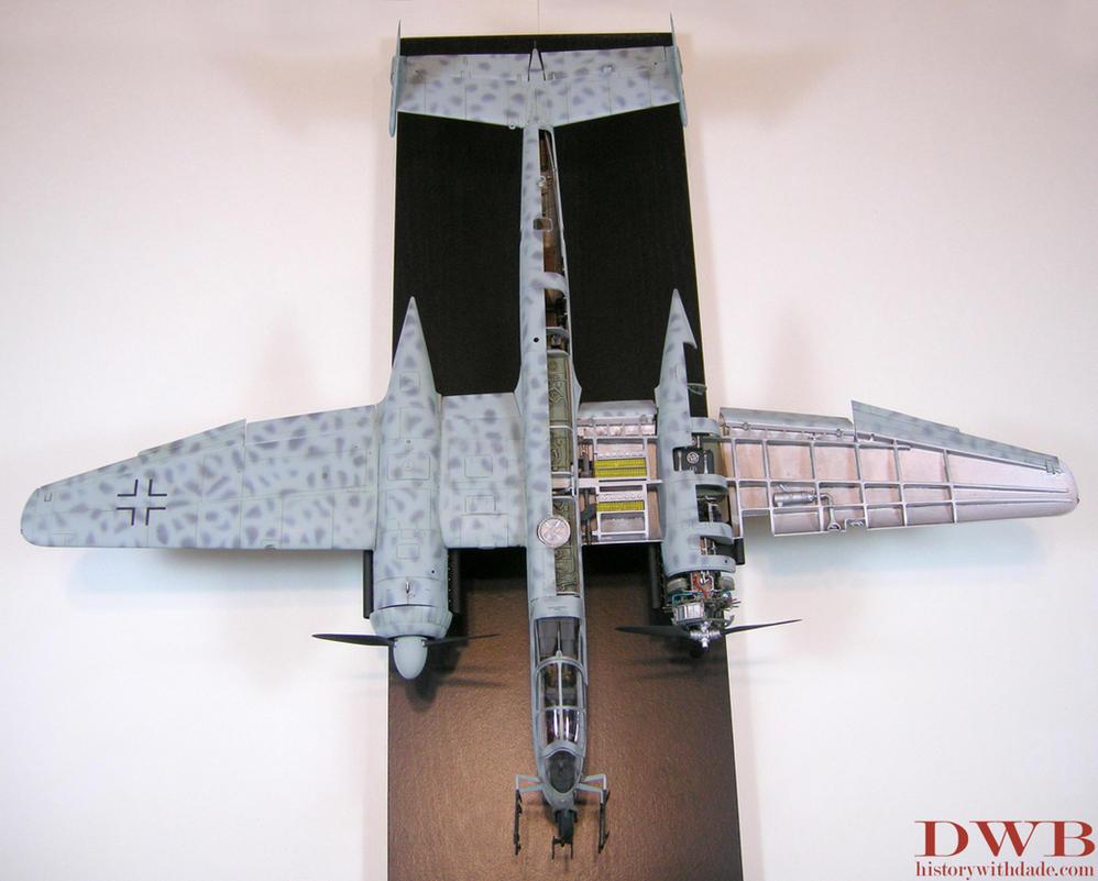 1/32 Heinkel He 219 A-0 Uhu Cutaway 3 by Bang-Doll-SSI