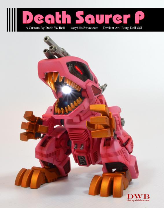 Death Saurer P by Bang-Doll-SSI