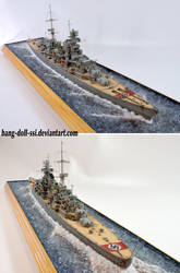 1/350 Prinz Eugen Diorama by Bang-Doll-SSI