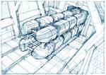 Futuristic Train x1