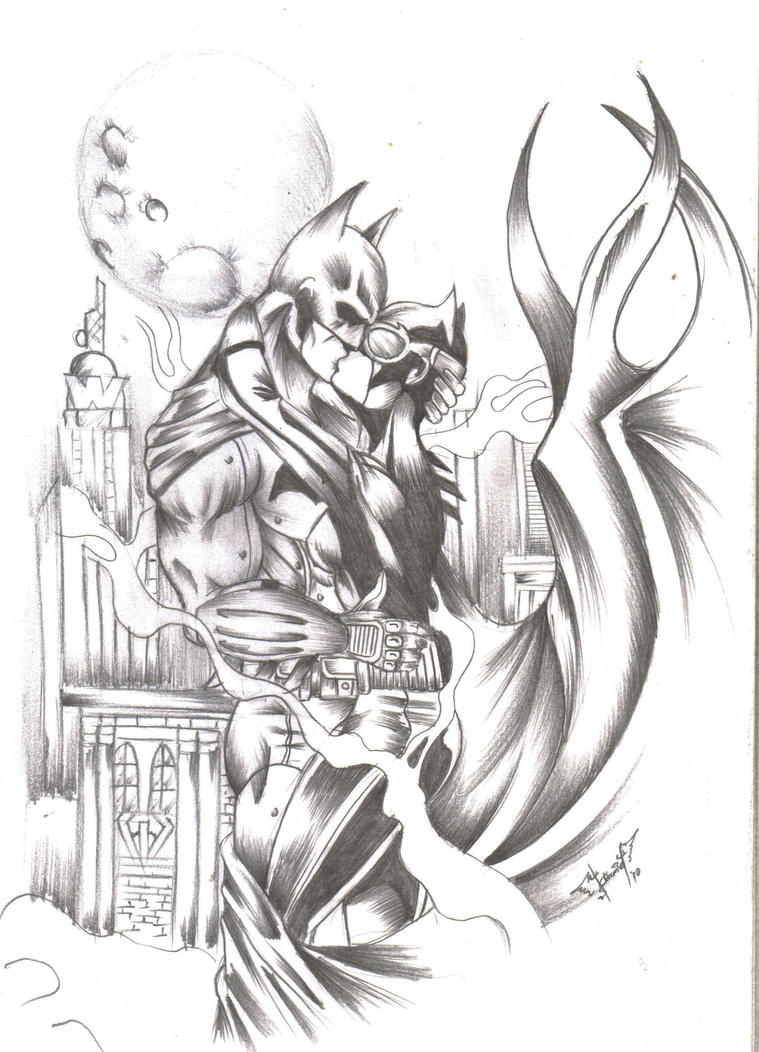 batman y catwoman by iruka15 on DeviantArt