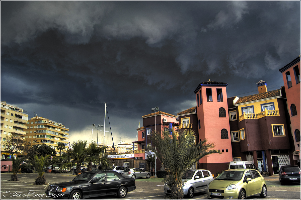 Dark skies in spain by Stianbl
