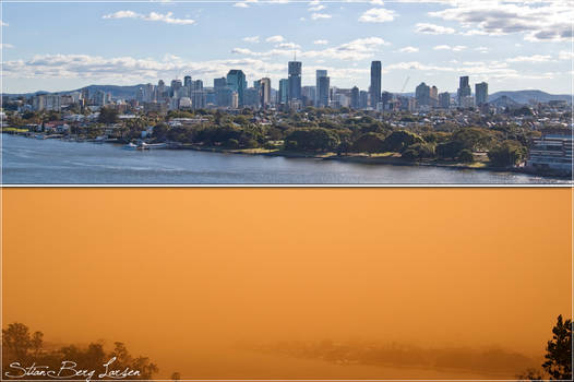 Brisbane - Duststorm 1