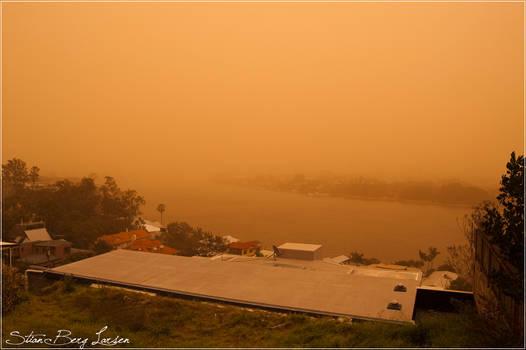 Brisbane - duststorm 4