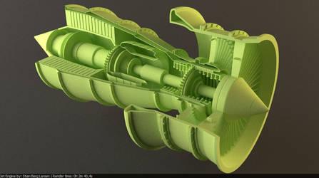 Jet-Engine WIP by Stianbl