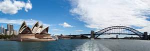 Sydney Panorama 1 by Stianbl
