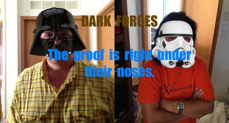 Star Wars Darth Vader and Storm Trooper by gregorionegaard
