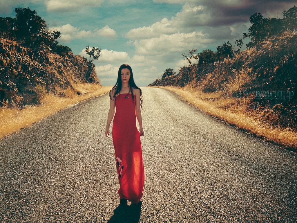 Desert Road by I-Got-Shot