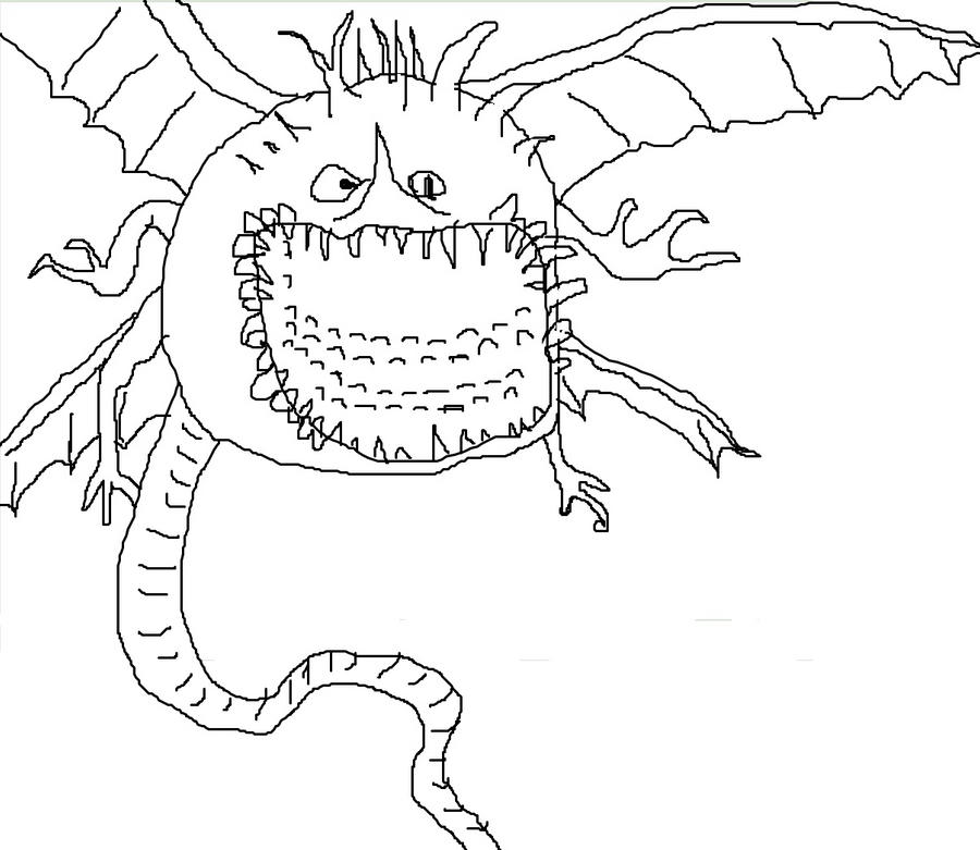 thunder drum dragon coloring pages - photo#25