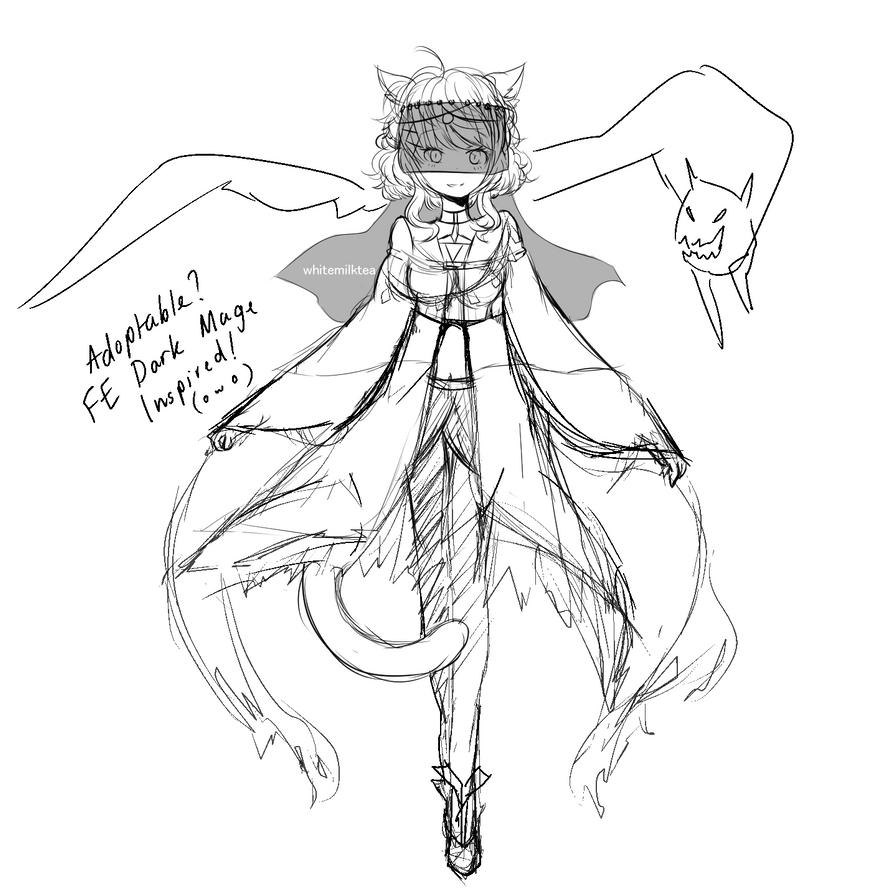 dark sorcerer adoptable (wip) by WhiteMilkTea