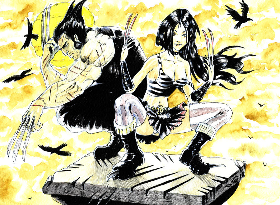 DND Paris : X-Men Age of Apocalypse by emalterre