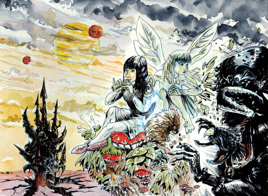DND Paris : The Dark Crystal by emalterre