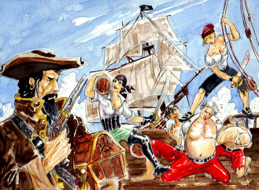 DND Paris : Famous Pirates by emalterre