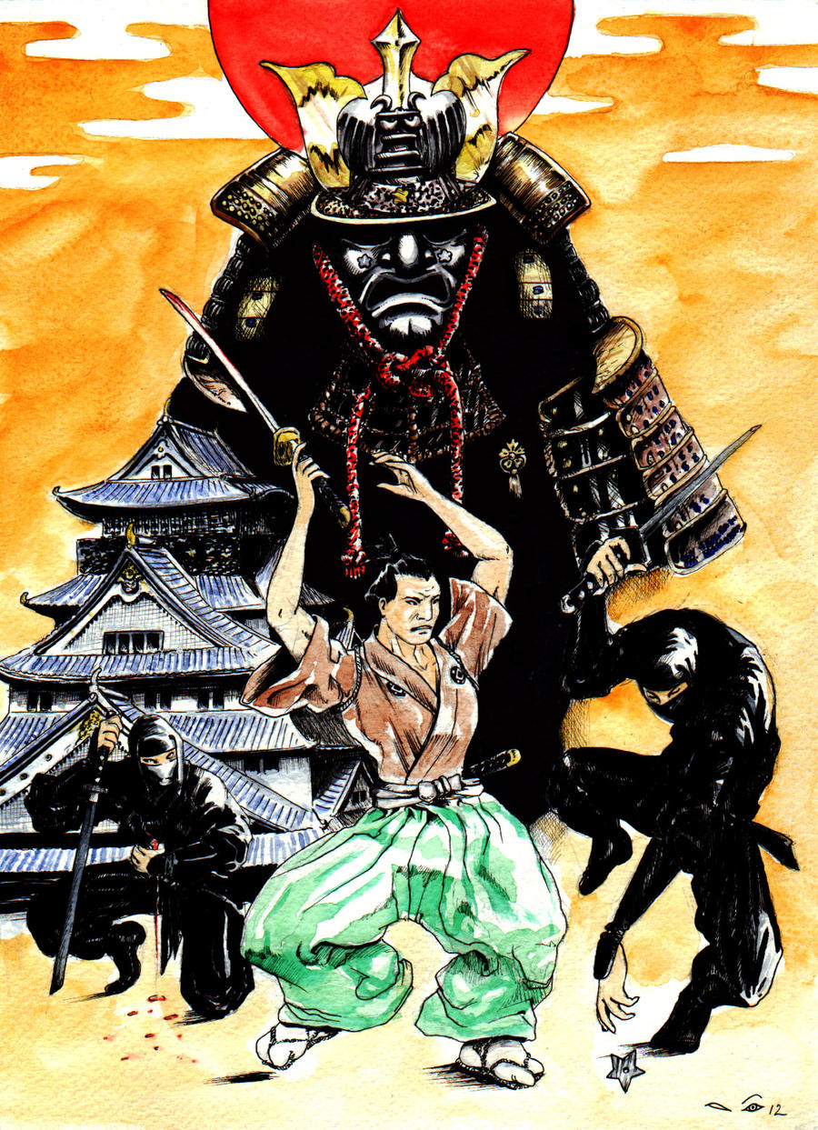DND Paris : Feudal Japan by emalterre